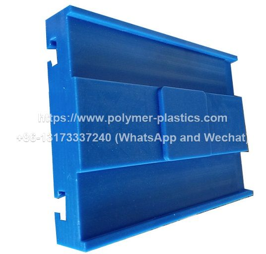 uhmwpe guide block for chain conveyors