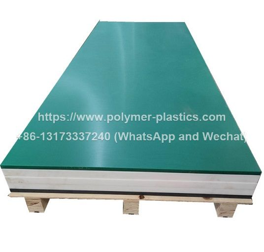 wear resistant green color uhmwpe sheet